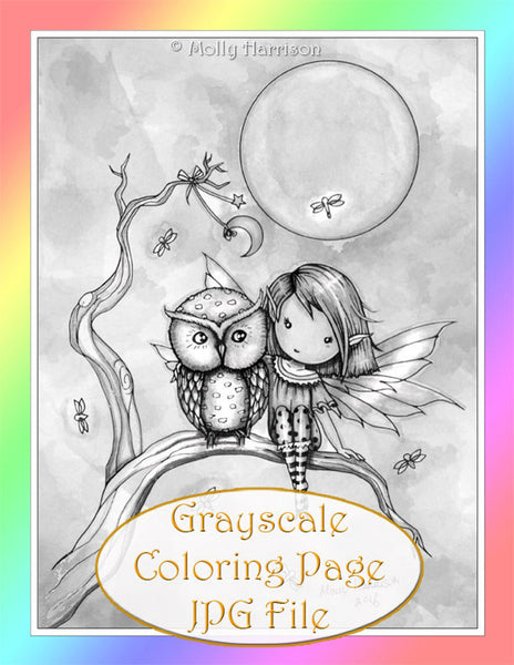 molly harrison coloring pages
