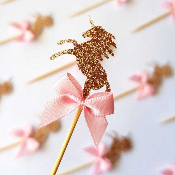 best unicorn cupcake toppers