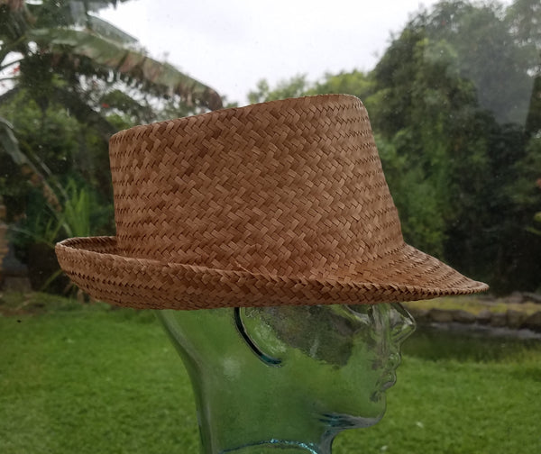 23 Inch Kona Lauhala Papale Trilby Style Hat