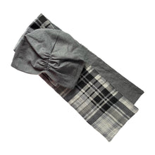 Load image into Gallery viewer, Grey / Black Plaid Original