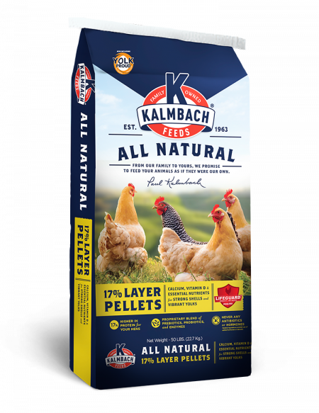 Kalmbach 17% All Natural Layer (Pellet)