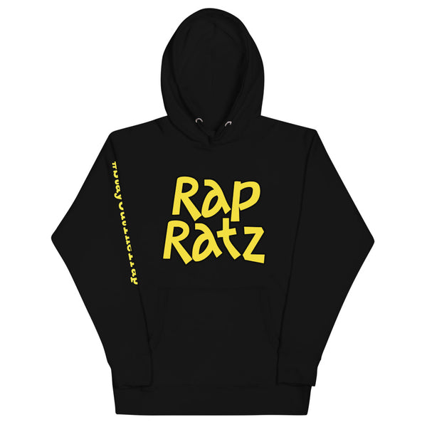 Rap Ratz Classic Hoodie: Stay Out The Trap (right sleeve)