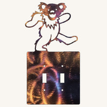 Load image into Gallery viewer, Grateful Dead Dancing Bear Light Switch Cover
