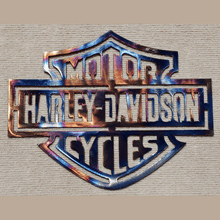 Load image into Gallery viewer, Harley Davidson Metal Art
