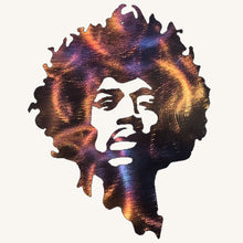Load image into Gallery viewer, Jimi Hendrix Metal Art Sculpture - Mountain Metal Arts