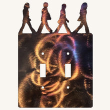 Load image into Gallery viewer, The Beatles Abbey Road Light Switch Cover Metal Art