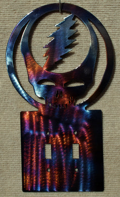 Steal Your Face / Grateful Dead Light Switch Cover - Mountain Metal Arts