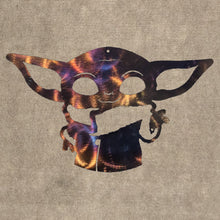 Load image into Gallery viewer, Baby Yoda Metal Art