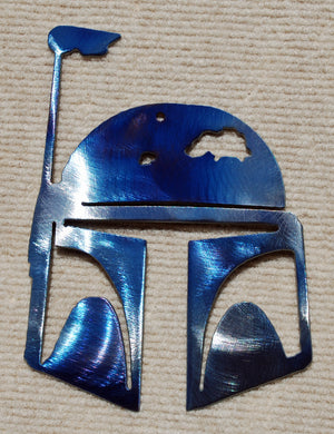 Boba Fett / Mandalorian Metal Art - Mountain Metal Arts
