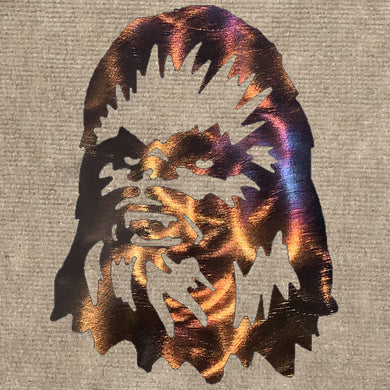 Chewbacca Metal Art - Mountain Metal Arts