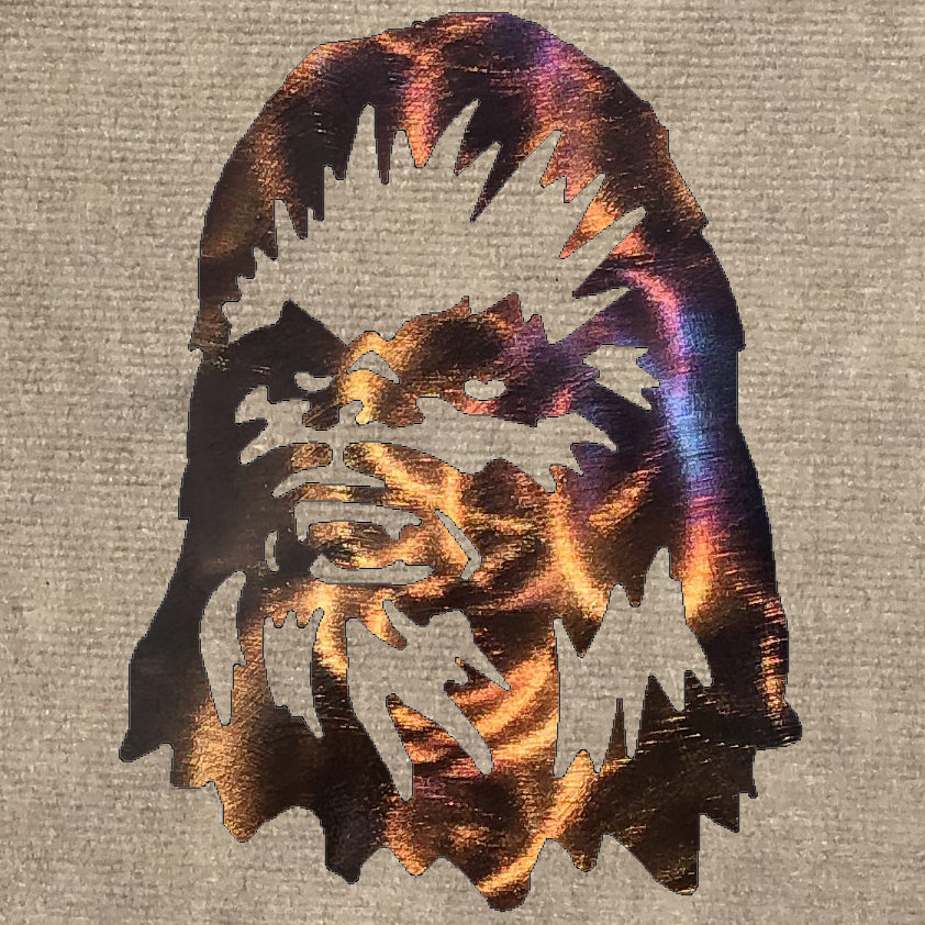 Chewbacca Metal Art