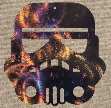 Stormtrooper Metal Art - Mountain Metal Arts