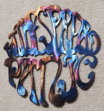Load image into Gallery viewer, Widespread Panic Round Logo Metal Art