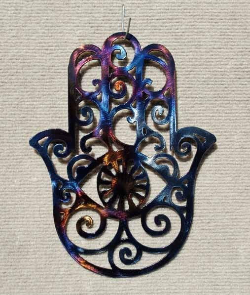 Hamsa Metal Art - Mountain Metal Arts
