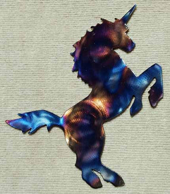 Unicorn Metal Art - Mountain Metal Arts