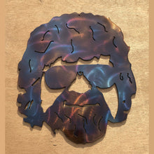 "Load image into Gallery viewer, Jeff Lynne Metal Art - 11"" - Mountain Metal Arts"