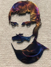 Load image into Gallery viewer, Freddie Mercury of Queen Metal Art