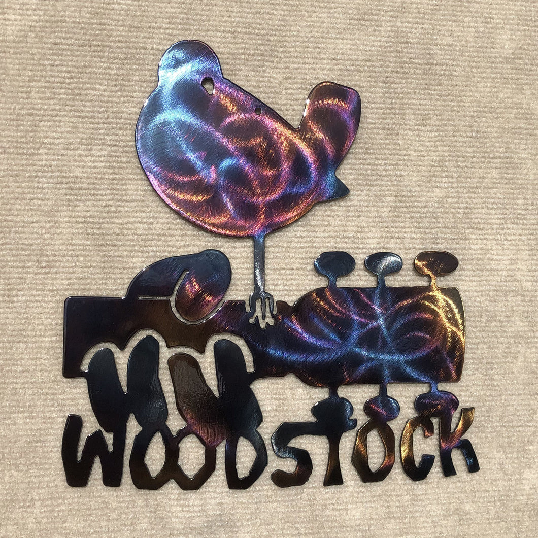 Woodstock Metal Art Sculpture