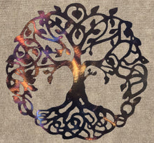 Load image into Gallery viewer, Tree of Life Celtic Metal Art Sculpture - Mountain Metal Arts