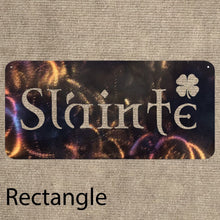 Load image into Gallery viewer, Slainte Irish Metal Art Plaques - 2 different styles! - Mountain Metal Arts