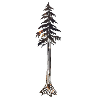 Pine Tree Metal Art - 18