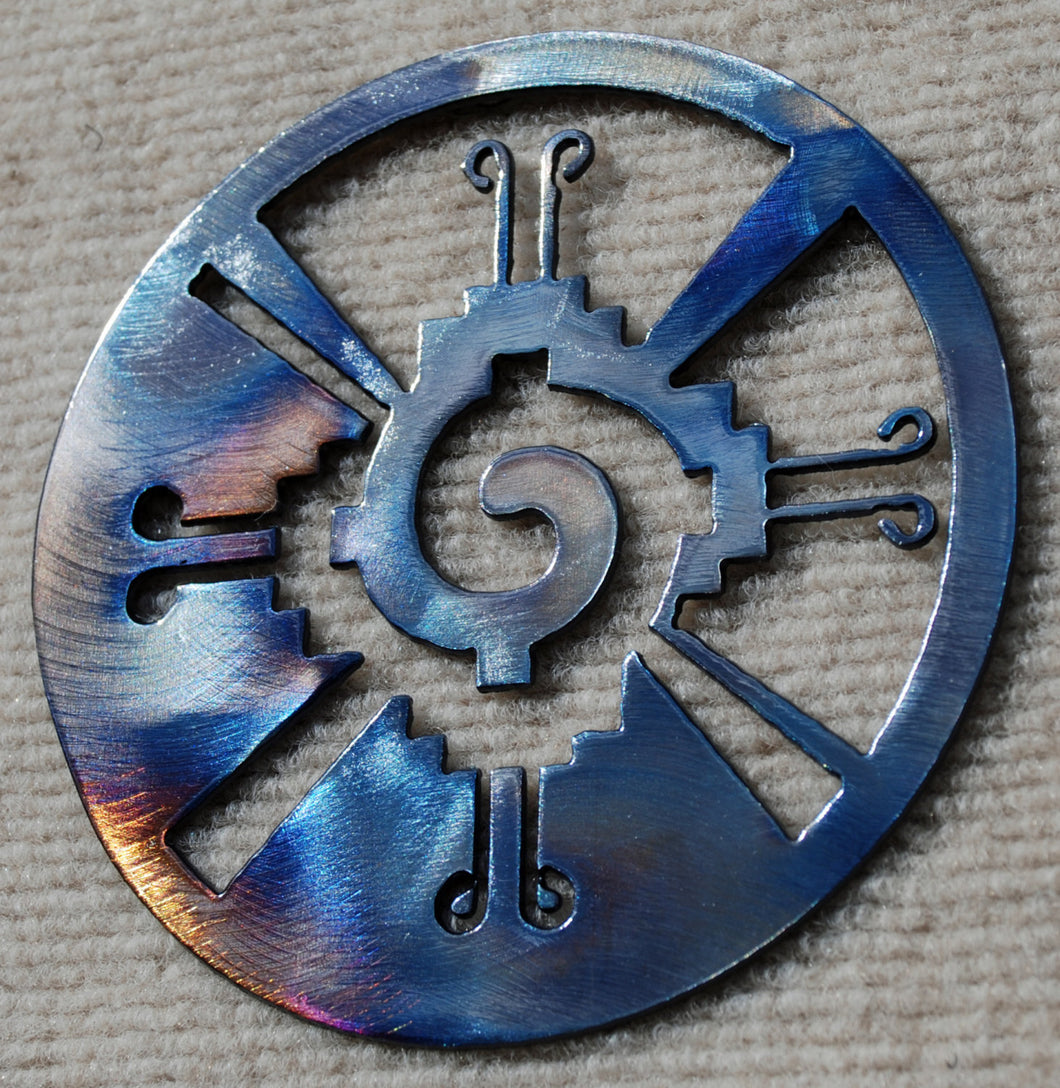 Galactic Butterfly / Hunab Ku Metal Art - Mountain Metal Arts