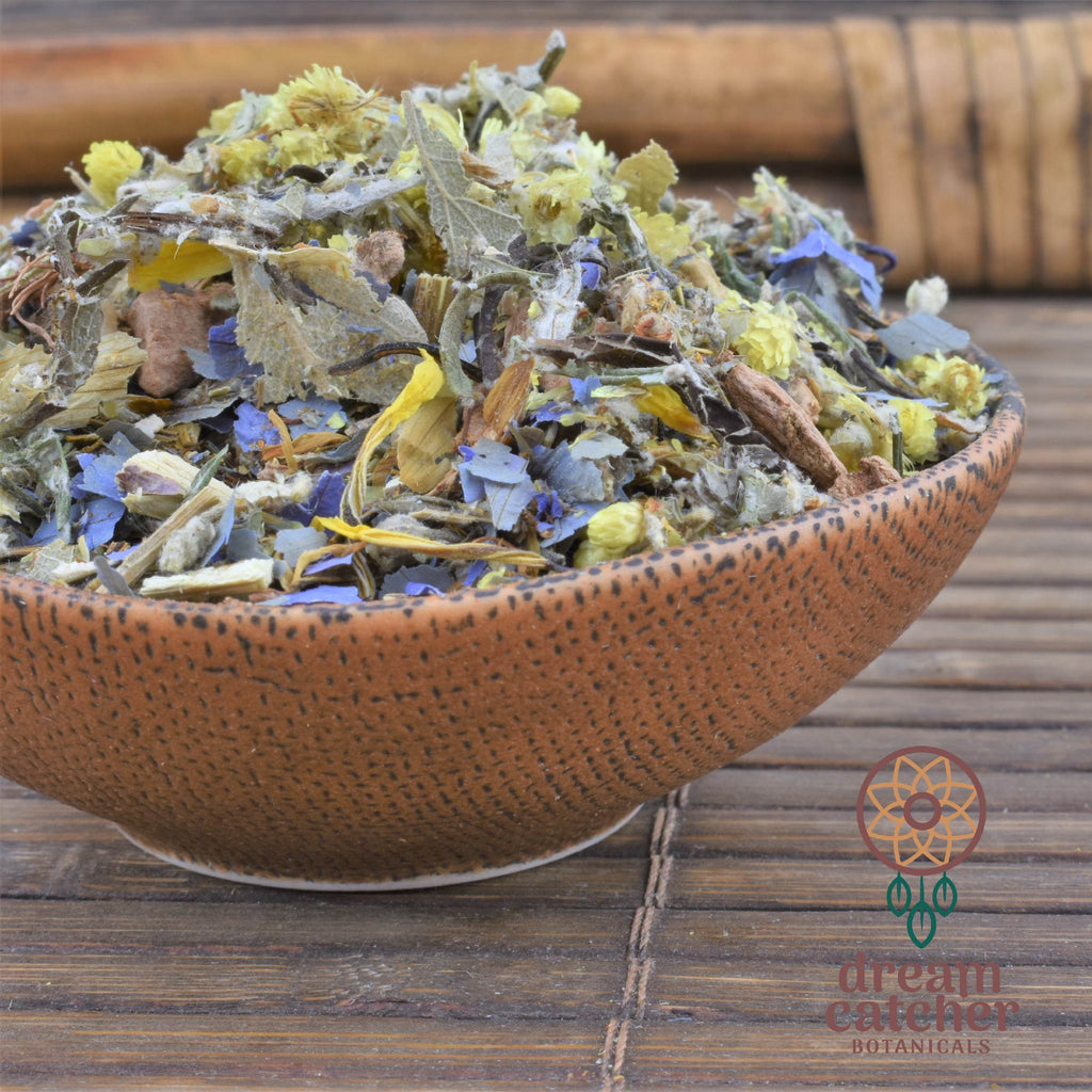 DreamScape Tea Blend Mugwort, African Dream Root, Guayusa LUCID DREAMING DEEP SLEEP RELAXATION