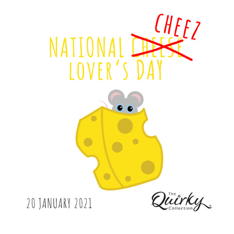 national cheese lovers cheez day at the quirky collection