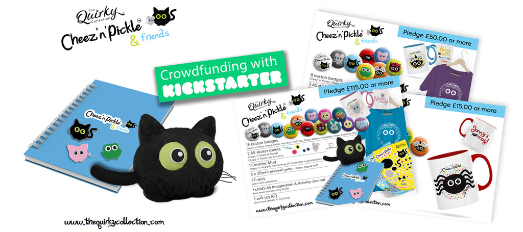 The Quirky Collection Crowdfunding Campaign Cheez n Pickle Range