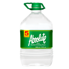 Absolute Distilled Drinking Water (5L x 3 bottles)