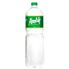 Absolute Distilled Drinking Water (1.5L x 12 bottles)