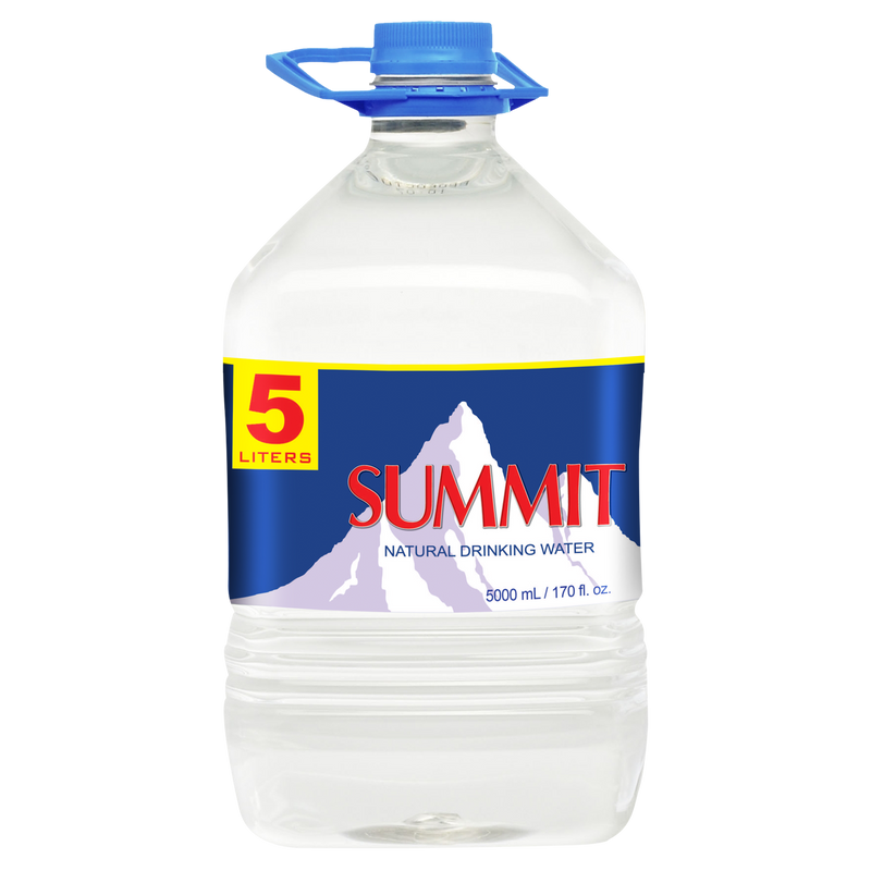 Summit Natural Drinking Water (5L x 3 bottles)