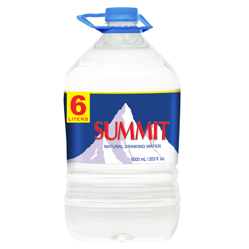 Summit Natural Drinking Water (6L x  3 bottles)
