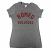 Romeo Bulldog Ladies Vintage Tee