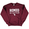 Romeo Michigan Crewneck Sweatshirt