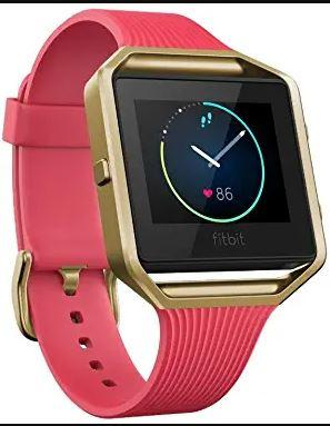 Fitbit Blaze Special Edition, Gold smart watch