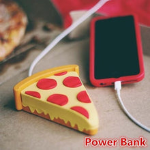Load image into Gallery viewer, New Original Power Bank 8800 mAh Pizza Power Bank