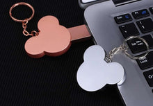 Load image into Gallery viewer, Customize Logo/Name Engrave Mickey Head Usb Pen Drive
