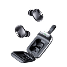 Load image into Gallery viewer, Bassbuds Urban in-Ear True Wireless Stereo Bluetooth Headphones (TWS) with Mic - (Black)