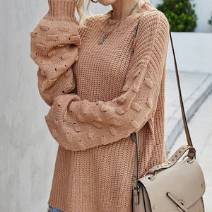 Camel Knit Sweater