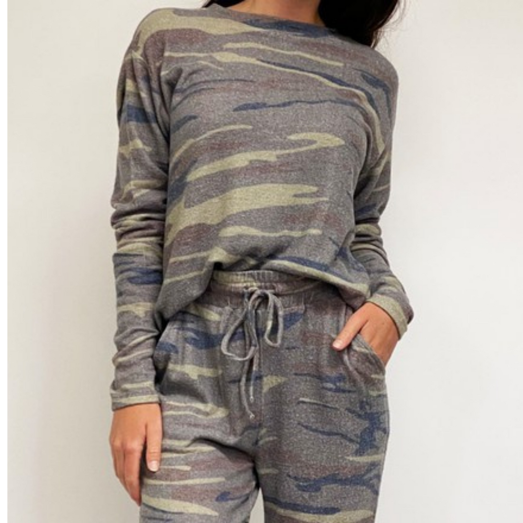 Camo Soft, Cozy Lounge Set