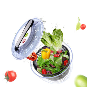 2-in-1 Dehydrating Salad Bowl