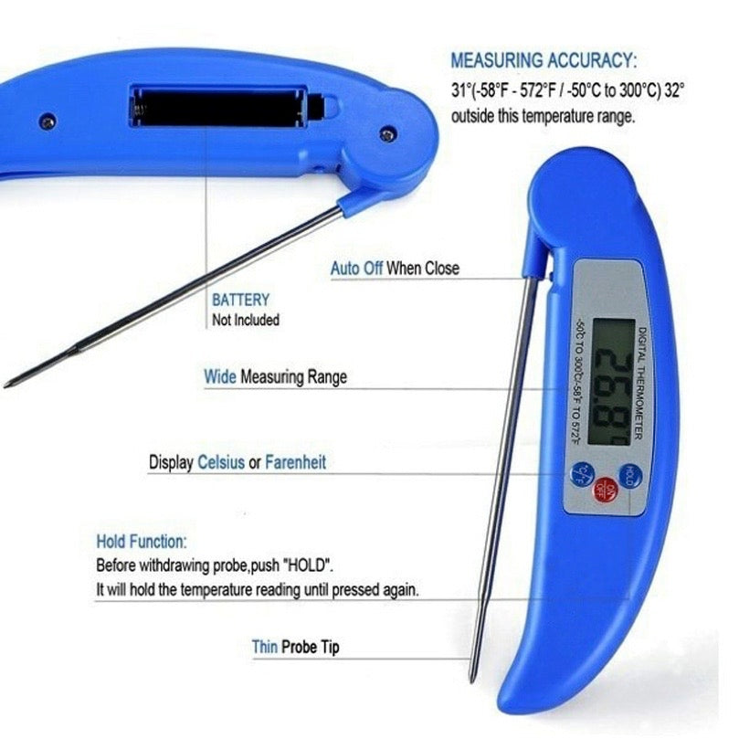 Foldable Thermometer