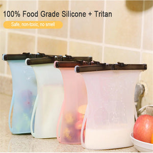 Eco Silicone Food Storage Bag
