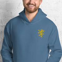 Classic Lion Embroidered Hoodie (Unisex)