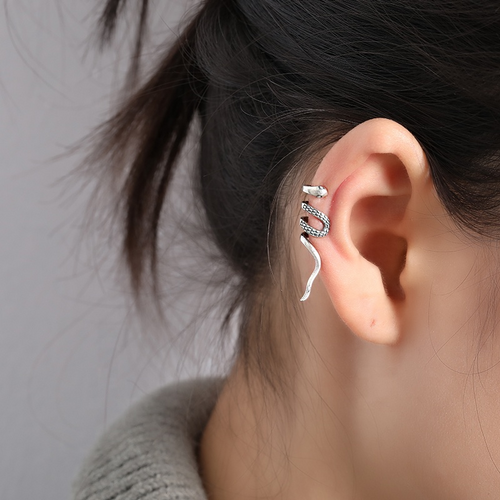 Vintage Earring; ear cuff silver.  It makes you look extraordinary