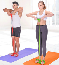 Load image into Gallery viewer, Pedal resistance band for home workout