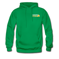 Carrier One Flatbed Proud Unisex Hoodie - kelly green