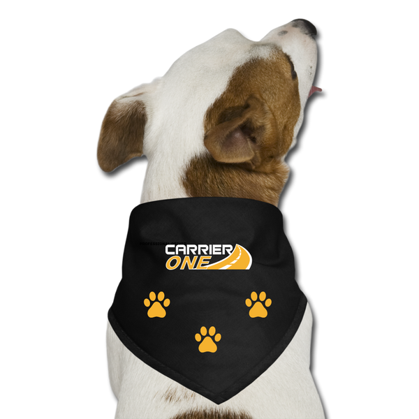 Dog Bandana - black