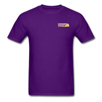 Men's T-Shirt - Flatbed Proud - purple